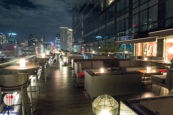 A taste of provence at mireio in raffles makati for Terrace 33 makati