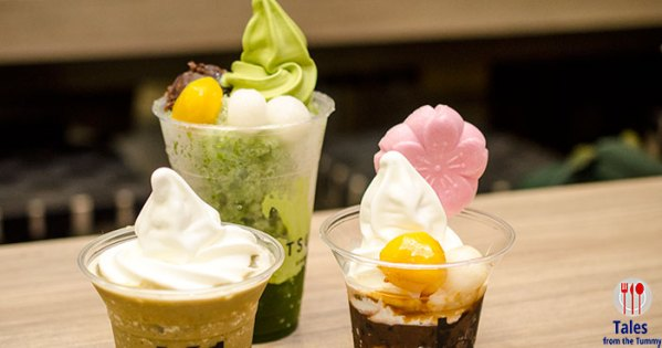 Go Matcha Crazy at Tsujiri in S Maison
