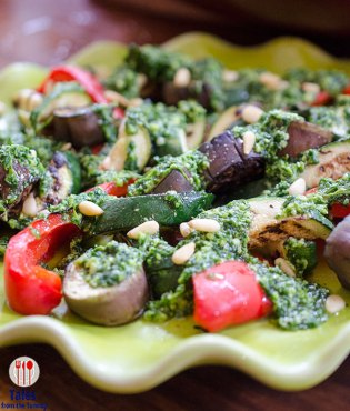 World Food Day 2018 Makati Shangrila Grilled Vegetable with Parsley Pesto