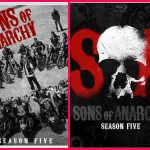 Sons of Anarchy Season 5 on Blue ray and DVD