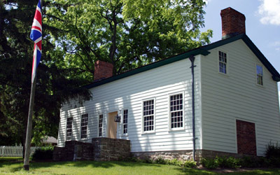 Laura Secord Homestead. Picture courtesy of Niagara Parks