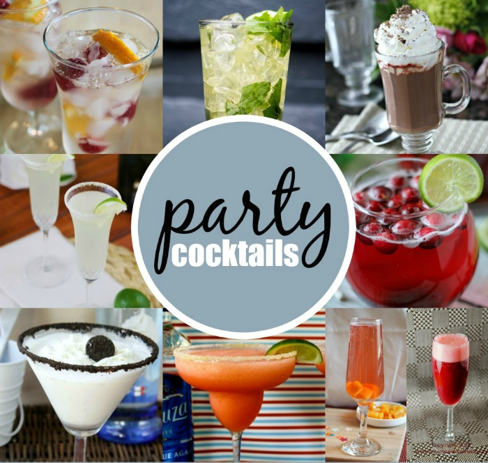 Party cocktail recipes