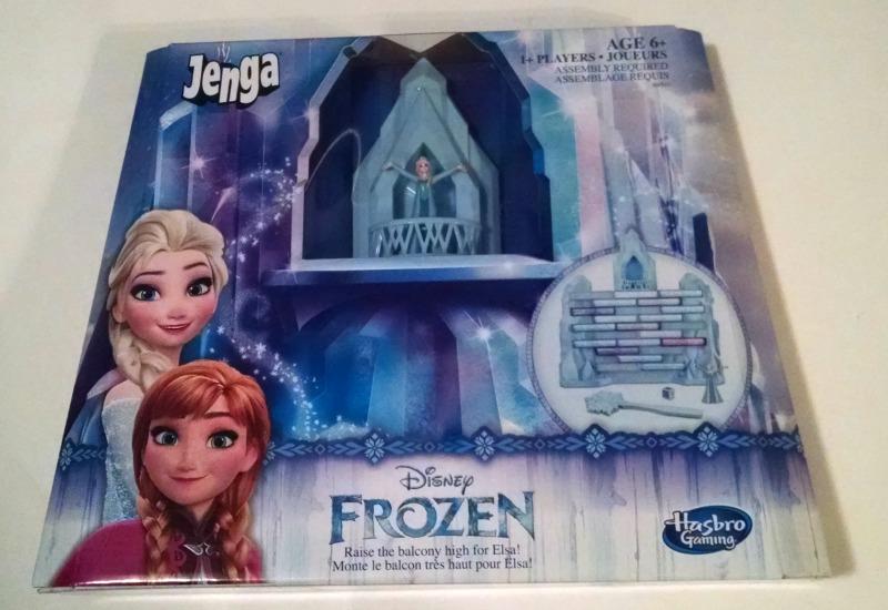 JENGA: Disney FROZEN Edition Game