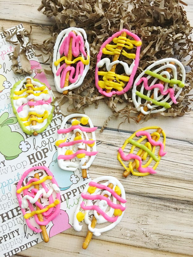 Easy Homemade Easter Egg Pretzels
