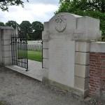Ypres Reservoir Cemetery, cementerio militar de la Primera Guerra Mundial (Ypres, Bélgica)