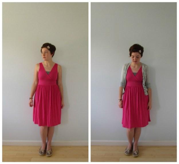 pink dress a