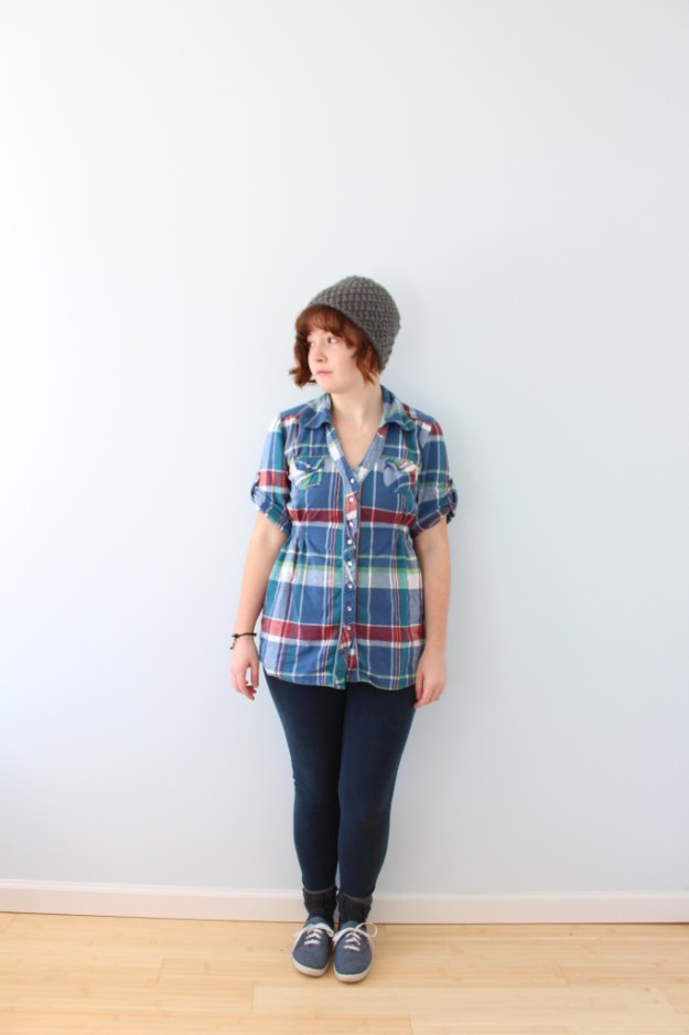 fitted flannel 1