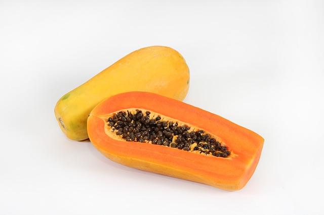 Papaya a frequent fruit in Indonesia