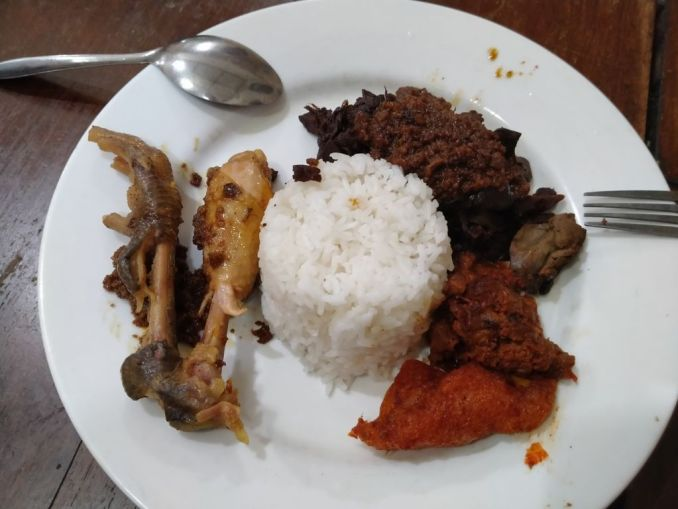 Authentic Gudeg from Yogyakarta Bu Lies