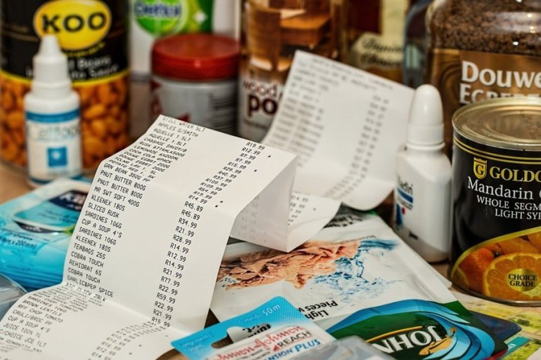 Grocery shopping cost living in Amsterdam