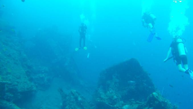 Liberty Shipwreck Dive at Tulamben