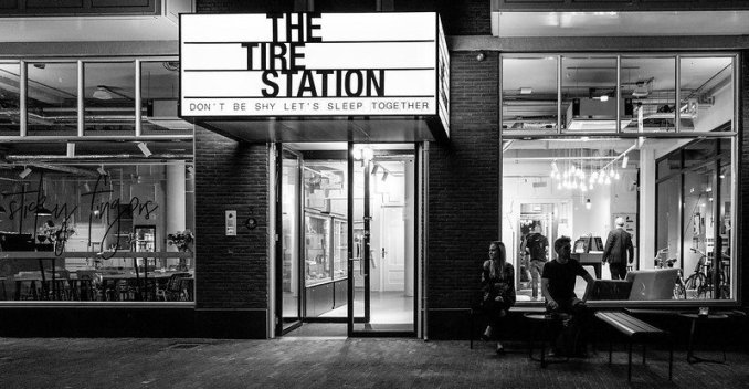 The Tire Station - 3 star hotel in Amsterdam