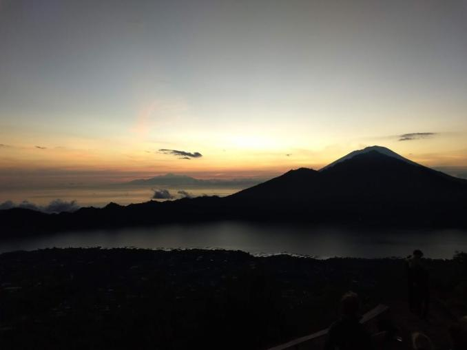 Best Sunrise view in Bali at Mount Batur