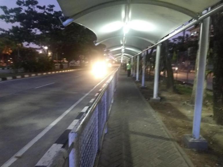 Walking to the cheap taxi at bali airport