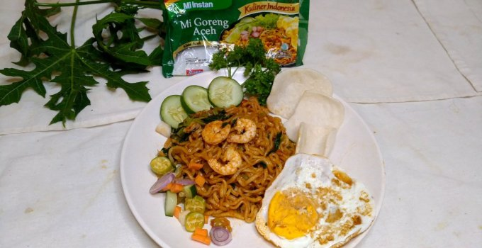 How to make mie goreng delicious