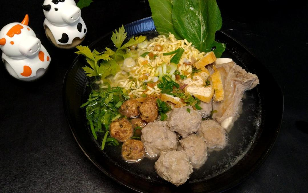 Recipe for Indonesian Meatballs Soup Bakso