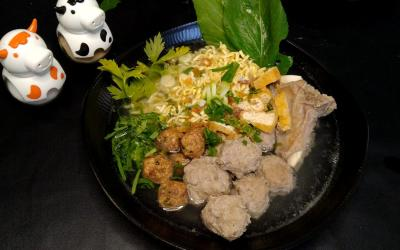 Recipe for Indonesian Meatballs Soup Bakso