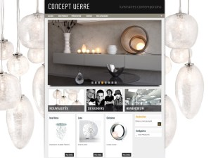 TALIDAD Concept Verre site internet paris Talidad Agence de Communication Paris et Nice