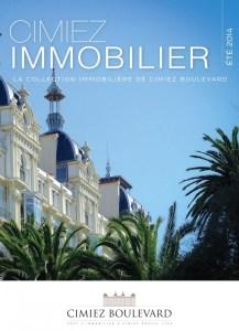 Magasine Immobilier Côte d'Azur TALIDAD Talidad Agence de Communication Paris et Nice