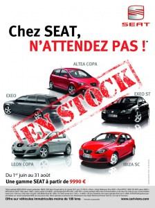 SEAT IBIZA Identité visuelle Paris et Nice Talidad Agence de Communication Paris et Nice