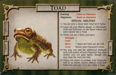 Evolution of the Toad | Welcome to Talisman Island