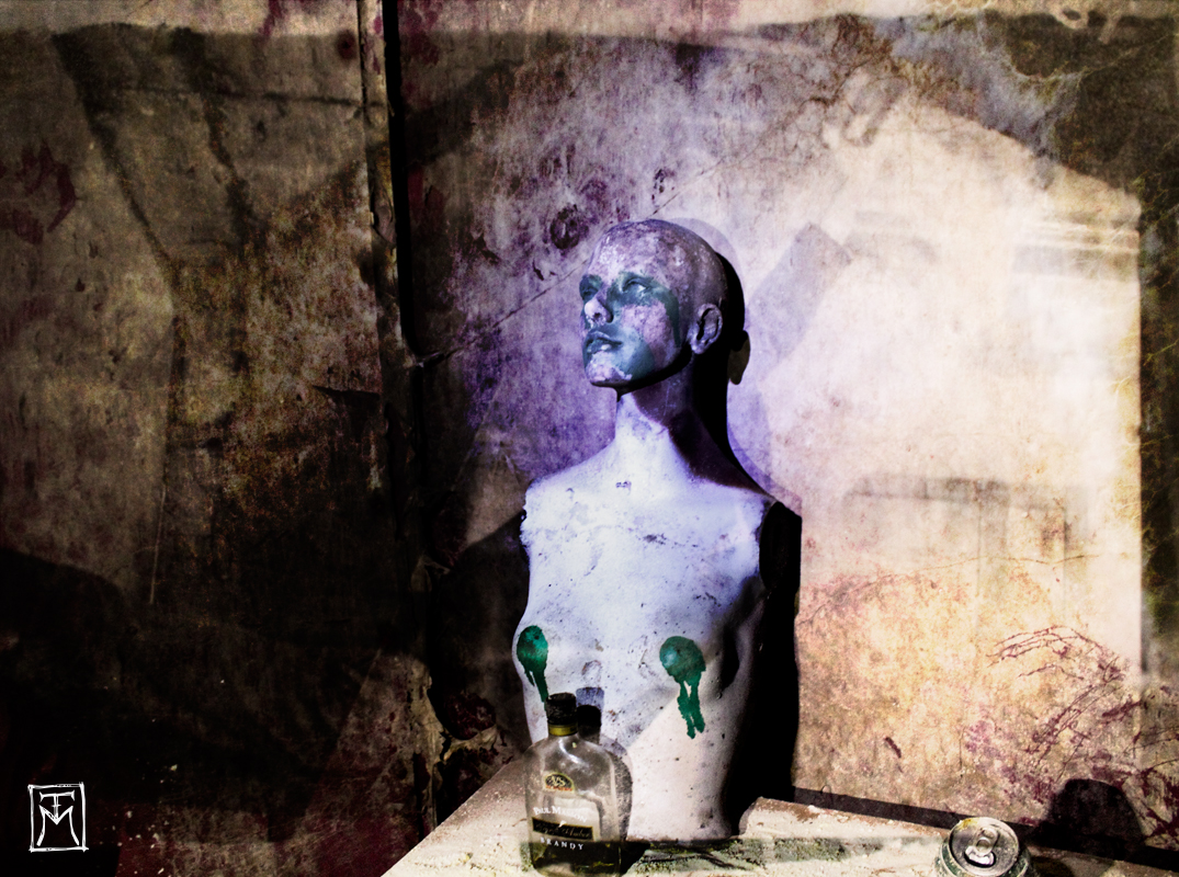 Abandoned Mannequin at the Tunnel of Terror