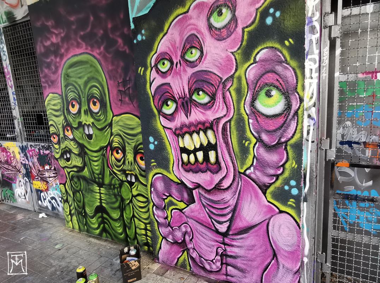 TM Street art at Alte Feuerwache