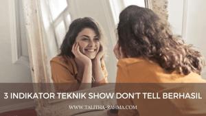 teknik show don't tell