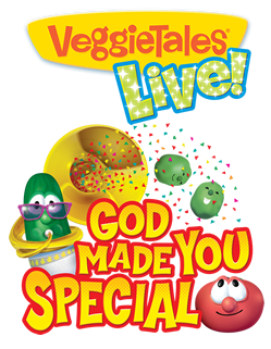 Family Fun with Veggie Tales at Mill Town Music Hall on Thursday, November 8th!