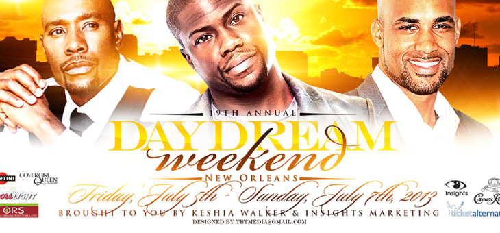 Spend 4th of July Weekend in New Orleans for Day Dream Weekend!