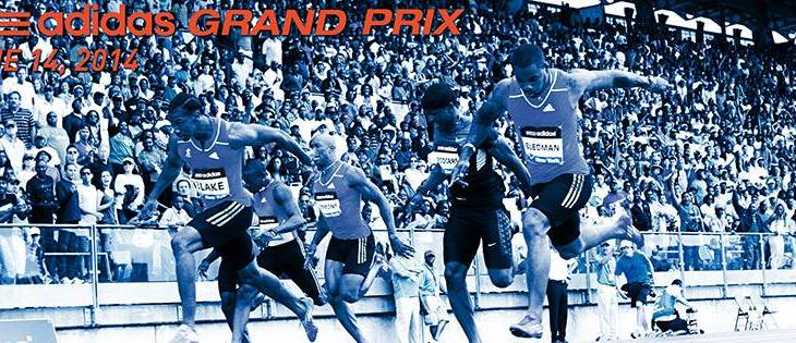 adidas Grand Prix at Icahn Stadium on June 14th