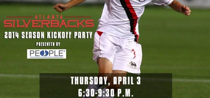 Atlanta Silverbacks Season Kickoff Party at Sweetwater Brewery, 4/3