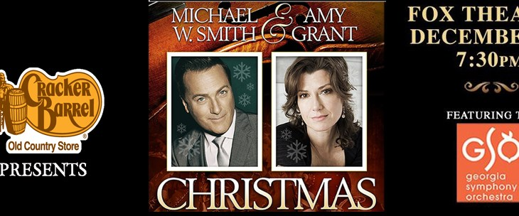 Event Preview: Michael W. Smith & Amy Grant Christmas Concert @ The Fox Theatre 12/15