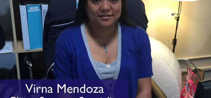 TA Behind The Scenes: Meet Virna Mendoza, Client Support Specialist