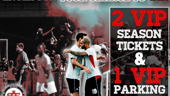 Win a VIP Season Ticket Package to the Atlanta Silverbacks!