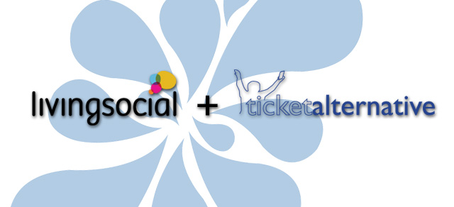 Ticket Alternative Now Integrates with LivingSocial