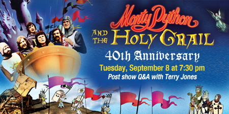TA Giveaway: Win 4 Pack of Tickets to Monty Python & The Holy Grail w/ Q&A Session @ The Fox Theatre 9/8