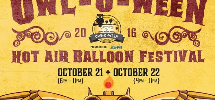 Enjoy Special Savings on the Owl-O-Ween Hot Air Balloon Festival at KSU