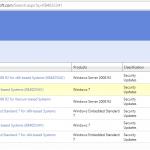 Update Catalog screen to choose updates