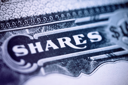 How can a company change the rights associated with a certain group of shares?