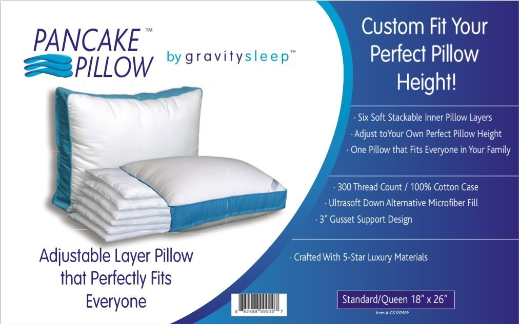 pancake pillow reviews online