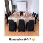 Before online meetings
