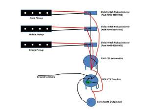 Three (3) Jazz Pickup Bass Wiring | TalkBass