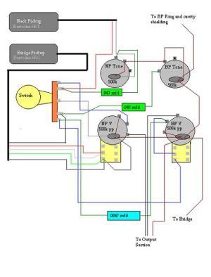 Rickenbacker 4003 custom wiring | TalkBass