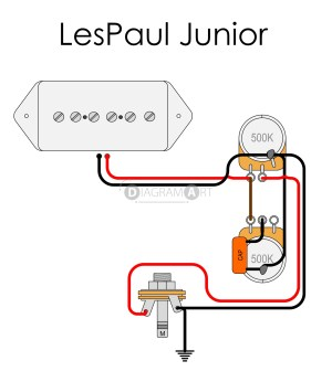 LP Junior wiring question | TalkBass