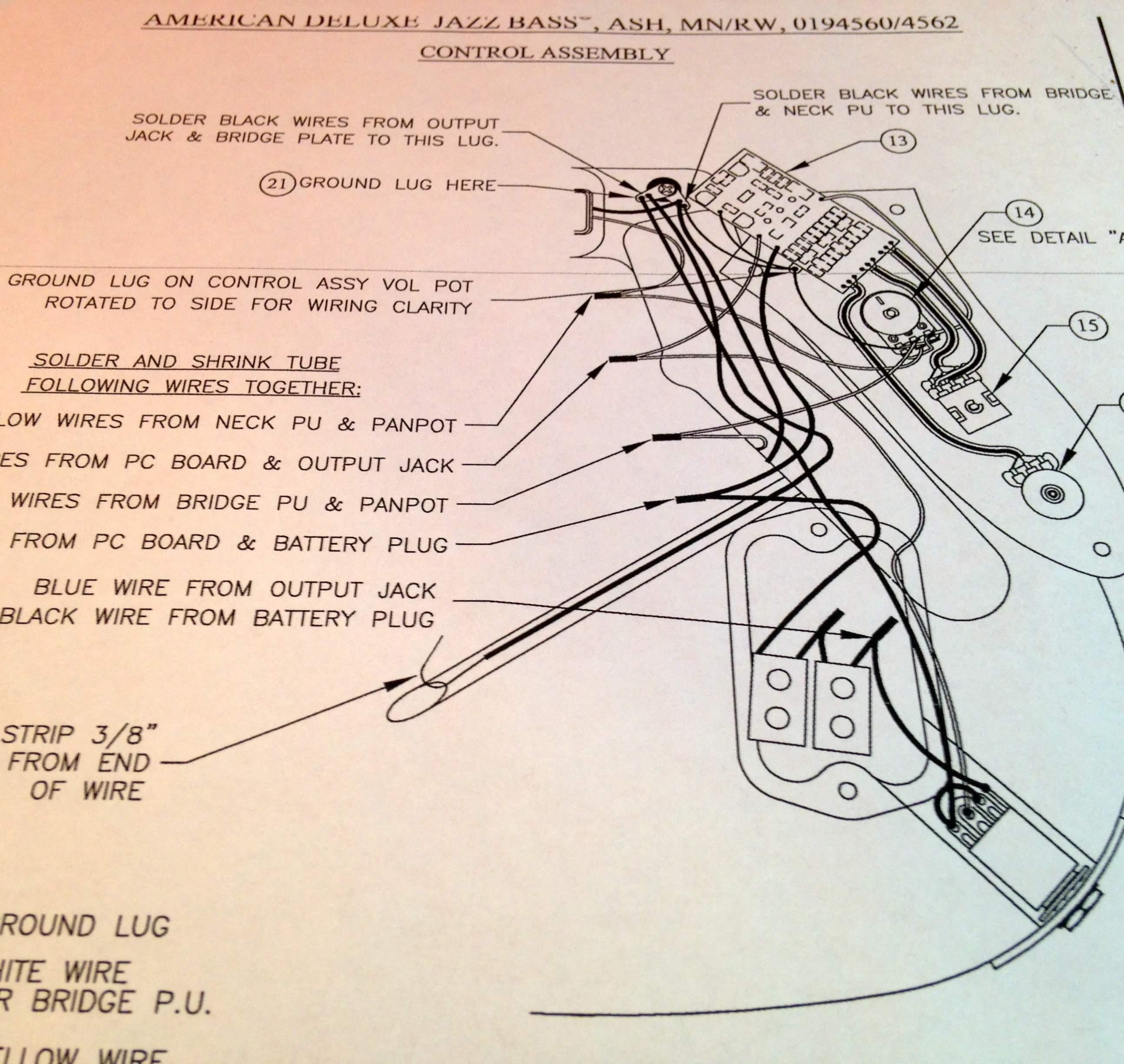 Highway 1 Fender Stratocaster Wiring Diagram