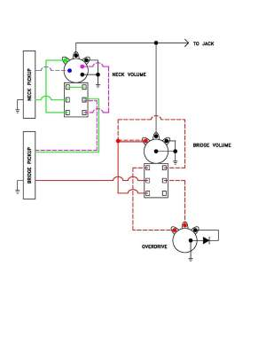 passive overdrive circuit wiring diagram for J | TalkBass