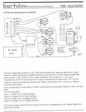 Bartolini TQB918 wiring diagram   TalkBass