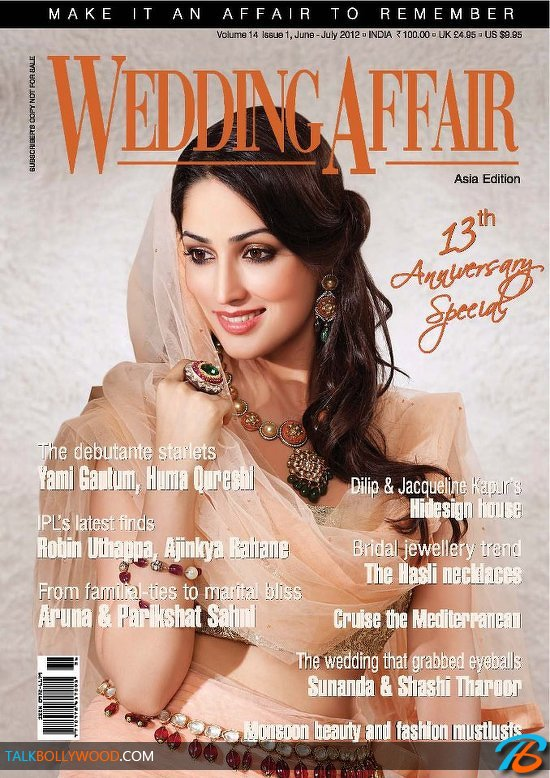 Yami Gautam on Wedding Affair