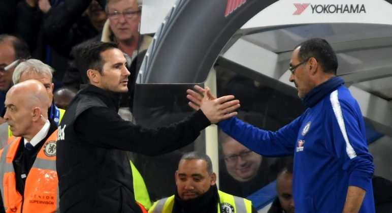 Frank Lampard Maurizio Sarri 3446576